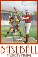 Baseball America Fine Art Print
