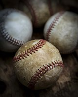 Old Baseball Fine Art Print