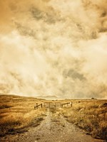 Ranch Gate Fine Art Print