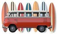 Surfer Van Fine Art Print