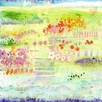 Garden by the Sea Fine Art Print