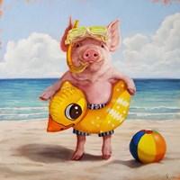 Baked Ham Fine Art Print