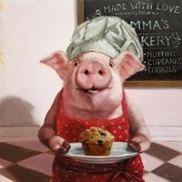 Pinkies Bakery Fine Art Print