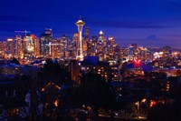 Night Seattle Fine Art Print