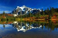 Picture Lake, WA Fine Art Print
