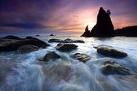 Split Rock, Olympic NP Fine Art Print