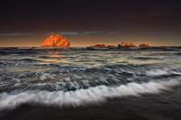 Sunrise Face Rock, Oregon Fine Art Print