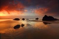 Sunset Cannon Beach Fine Art Print