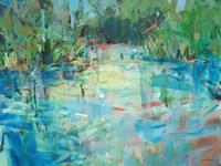 Evening Creek Blues Fine Art Print