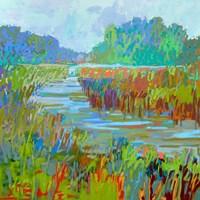 A Bend in the River Fine Art Print