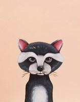 Baby Raccoon Fine Art Print