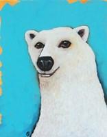The Cute Polar Bear Fine Art Print