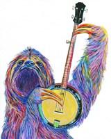 Slow Banjo Fine Art Print
