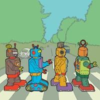 Abbey Road Bots Fine Art Print
