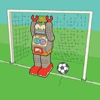 Goalie Bot Fine Art Print