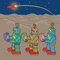 Wise Bots Fine Art Print