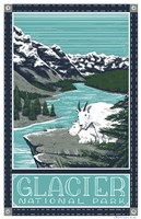 Glacier National Parks Fine Art Print