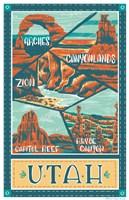 Utah Parks Fine Art Print