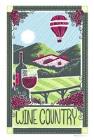 Wine Country Fine Art Print