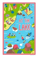 At the Lakes Fine Art Print