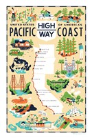 Pacific Coast Highway Fine Art Print