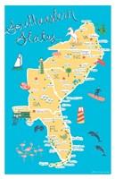 Southeastern States Fine Art Print