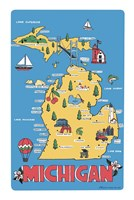 Michigan Fine Art Print
