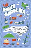 North Carolina Fine Art Print