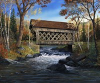 Trout Creek Crossing Fine Art Print