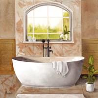 Marble Bath I Fine Art Print