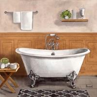 Serene Bath I Fine Art Print