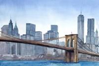 NY Skyline Fine Art Print
