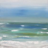 Ocean vertical landscape Fine Art Print