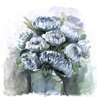Potted Chrysanthemums Fine Art Print