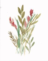 Farmhouse Florals IV Fine Art Print