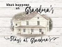 Stays at Grandma's Fine Art Print