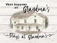 Stays at Grandma's Fine Art Print