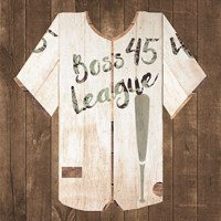 Vintage Sports Boss League Fine Art Print