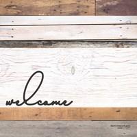 Welcome Pallet Fine Art Print