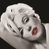 Marilyn's Lips Fine Art Print