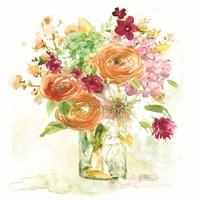 Garden Jar VI Fine Art Print