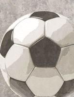 Sports Ball - Soccer Framed Print