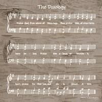 The Doxology Sheet Music Fine Art Print