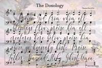 The Doxology Lyrics Fine Art Print