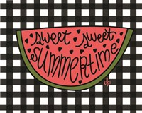Sweet Summertime Watermelon Fine Art Print