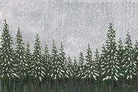 Snowy Forest Fine Art Print