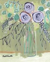 The Flower Lady Fine Art Print