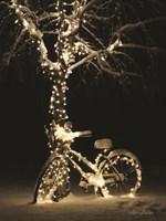 Snowy Bicycle Fine Art Print