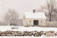 Virginia Snow Storm Fine Art Print