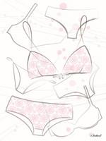 Pink Underwear Fine Art Print